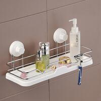 双庆 吸盘置物架浴室置物架壁挂卫生间置物架浴室架挂架卫生间浴室收纳架置物架 SQ5885