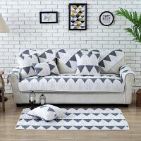 四季沙发垫套装全棉沙发垫坐垫 普罗故事