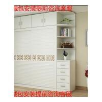 简约现代板式4门衣柜子实木质推拉2门3门整体定制家具卧室大衣橱 2门