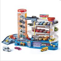 汽车大楼停车场玩具套装大型多层赛道赛车电动轨道车儿童男孩