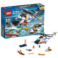 [当当自营]LEGO 乐高 City城市系列 重型救援直升机 积木拼插儿童益智玩具60166