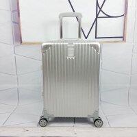 旅行箱万向轮拉杆箱行李箱铝框女男26学生密码箱包20寸24皮箱28
