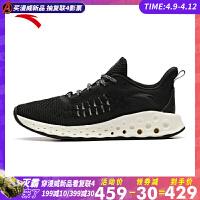 安踏女鞋运动鞋2019夏季新款虫洞科技跑步鞋轻便休闲跑鞋12925588