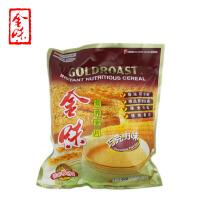 新加坡味驰集团 金味麦片(巧克力味)600g 袋装 营养燕麦片早餐 即食冲饮 冲调麦片