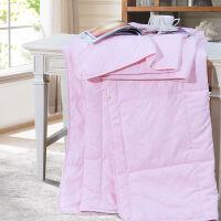 【新品上市】富安娜家纺 馨而乐纯棉夏被夏凉空调被午休被芯 七孔空调被 如意系列 粉色 1.8m(230*229cm)
