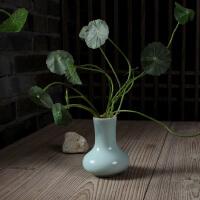 龙泉青瓷 香炉瓶 陶瓷 花插瓶 香道用品 佛具 香具瓶 小花瓶正品