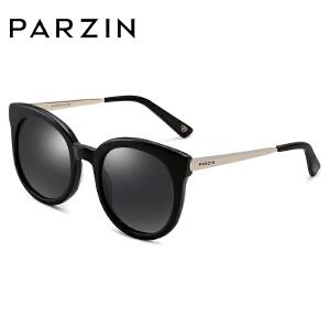帕森偏光太阳眼镜 女士复古板材大框炫彩膜潮墨镜 9732