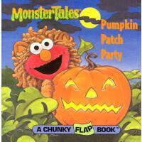 英文原版 芝麻街:南瓜饼宴会翻翻书 Pumpkin Patch Party (Sesame Street)