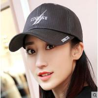 棒球帽女网红同款时尚男女士情侣嘻哈帽子休闲韩版户外运动新品遮阳帽纯黑色鸭舌帽