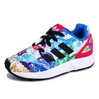 【3折价:140.7元】阿迪达斯(adidas)S76314 女童鞋婴童三叶草醒目粉