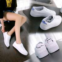 休闲板鞋单鞋新款韩版chic小白鞋子女时尚百搭学生平底鞋