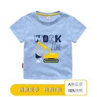 【7.28品牌抢购价:19.9元】斯提妮2021新款t恤儿童夏 卡通男童女童短袖 韩版儿童T恤上装【支持礼品卡】