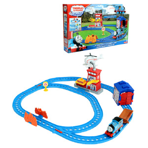 托马斯电动小火车系列之多多岛搜救中心轨道BMF10 创意拼搭玩具