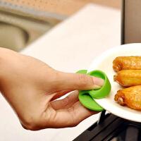 纳川磁吸隔热夹 硅胶带磁铁可吸附手指套 微波炉耐高温防滑防烫夹