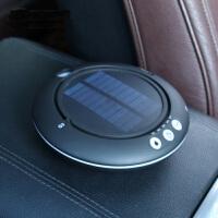车载空气净化器太阳能汽车用负离子加湿净化器 香薰氧吧