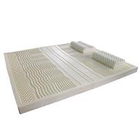 乳胶床垫进口天然橡胶1.5米1.8m席梦思纯10cm5cm3cm厚榻榻米 85D一体成型5cm带内套 配枕头