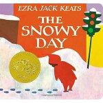 The Snowy Day 纸板书 下雪天 1963年 凯迪克金奖绘本 圣诞节绘本 美国Top 100 百本必读英文原