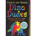 【预订】Scratch and Sketch Dino Dudes: An Art Activity Book for