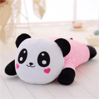 趴趴熊音乐枕 熊猫睡觉抱枕头毛绒玩具抱抱熊娃娃公仔生日礼物女