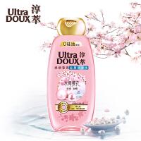 淳萃(UltraDOUX)水舞樱花柔顺莹亮去屑洗发水400ml