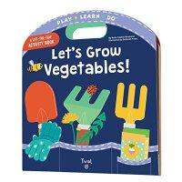 【现货】英文原版 一起种菜吧! Let's Grow Vegetables! (Play Learn Do)0-5岁