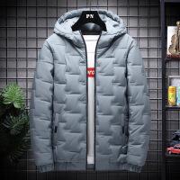 男士外套 羽绒棉衣冬季韩版ins面包连帽加厚夹克