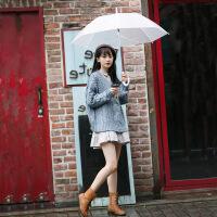 18新款秋冬装韩版宽松毛衣女两件套甜美小个子显瘦软妹裙子套装潮 +衬衫打底裙