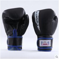 泰拳拳击比赛两用型拳击手套散打搏击格斗拳套真皮成人手套沙袋包