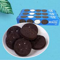 【包邮】韩国进口 乐天奥利奥饼干 巧克力奶油夹心 105g*3袋