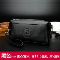 2018新款男式手包真皮男包手拿包夹包韩版牛皮男士包包软皮大容量