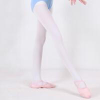 儿童舞蹈袜打底袜女童天鹅绒春夏芭蕾舞蹈袜子加裆连裤袜白色