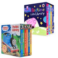顺丰包邮 粉红猪小妹Peppa Pig Bedtime Little Library Thomas 托马斯 小图书馆2