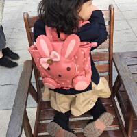 宝宝书包1-3岁儿童小背包可爱男女幼儿园双肩pu皮韩版 走失包