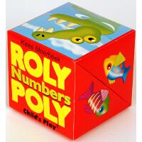 英文原版 盒子立体书:数字 Roly Poly Pop-Up: Numbers