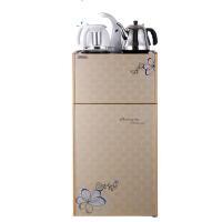 家用时尚饮水机立式茶吧机家用台式双开门触屏茶吧机冷热开水机