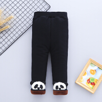 女童婴儿加绒加厚打底裤宝宝棉裤0123岁儿童保暖卡通裤子季外穿