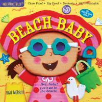 Indestructibles: Beach Baby 防水无毒可咬婴幼儿玩具书:宝宝去海滩