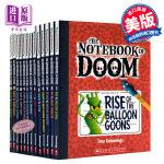 学乐Scholastic Branches系列 毁灭笔记13册 英文原版 Notebook of Doom(5-9岁)