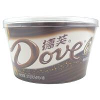 德芙(Dove) 新丝滑牛奶巧克力 四种口味任选 252g 桶装 休闲零食