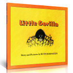 Little Gorilla 小猩猩 儿童启蒙认知读物 英文原版亲子读物 汪培�E推荐阶段书单绘本 平装大开本