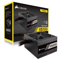 美商海盗船(USCorsair)额定550W VS550 台式机电脑电源(80PLUS认证/12cm风扇/主动PFC/