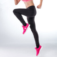 运动裤 女加绒速干小脚收腿跑步长裤紧身裤
