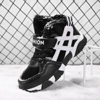 儿童鞋子男童运动鞋中大童大棉鞋冬季男童鞋2017新款加绒童鞋男童
