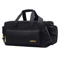 男女单肩包摄像机包 相机包大容量手提包 黑色