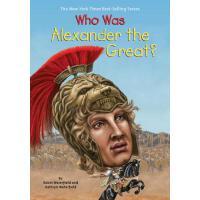 【现货】英文原版 Who Was Alexander the Great? 亚历山大大帝是谁 名人传记 中小学生读物