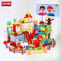 惠美积木儿童大颗粒益智拼插积木玩具210颗粒宝宝1-3-6周岁HM182
