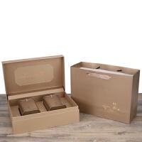 绿茶包装盒空礼盒碧螺春安吉白茶龙井茶茶叶包装盒茶叶罐铁盒定制