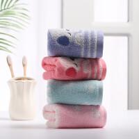 韩版儿童毛巾纯棉学生洗脸擦脸面巾纱布软吸水卡通可爱小毛巾