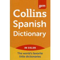 【预订】Collins Spanish Dictionary 9780062220493