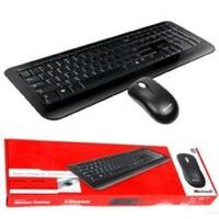 Microsoft/微软 无线桌面键鼠套装800 超薄静音按键 全新盒装正品行货